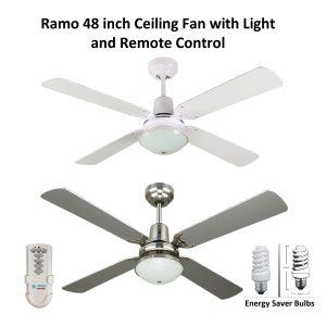 Ramo 48 inch Ceiling Fan