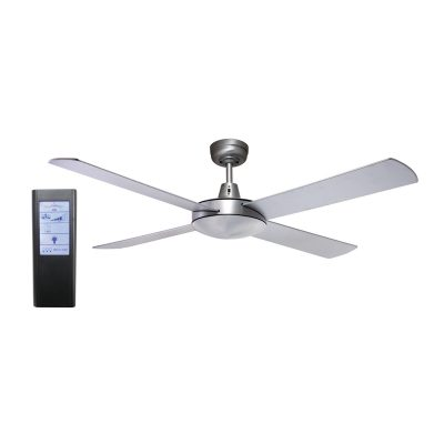 Genesis 52'' Brushed Aluminum Ceiling Fan + BL Touch Pad Remote - GEN52B - TBLRem