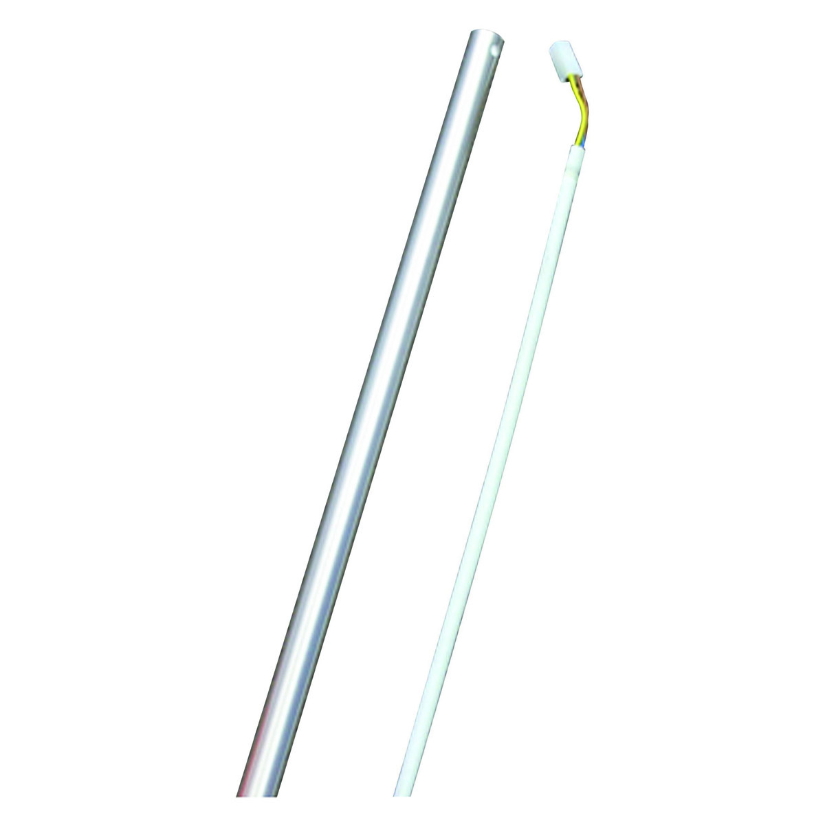 900mm brushed aluminum ceiling fan extension rod with wiring loom 900mm brushed aluminium ceiling fan extension rod dr36b aloadofball Gallery
