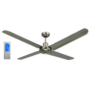 BLIZZARD56'' 1200mm 316SS Ceiling Fan + Touch Pad WH Remote - BLIZZARD56'' - TWHRem