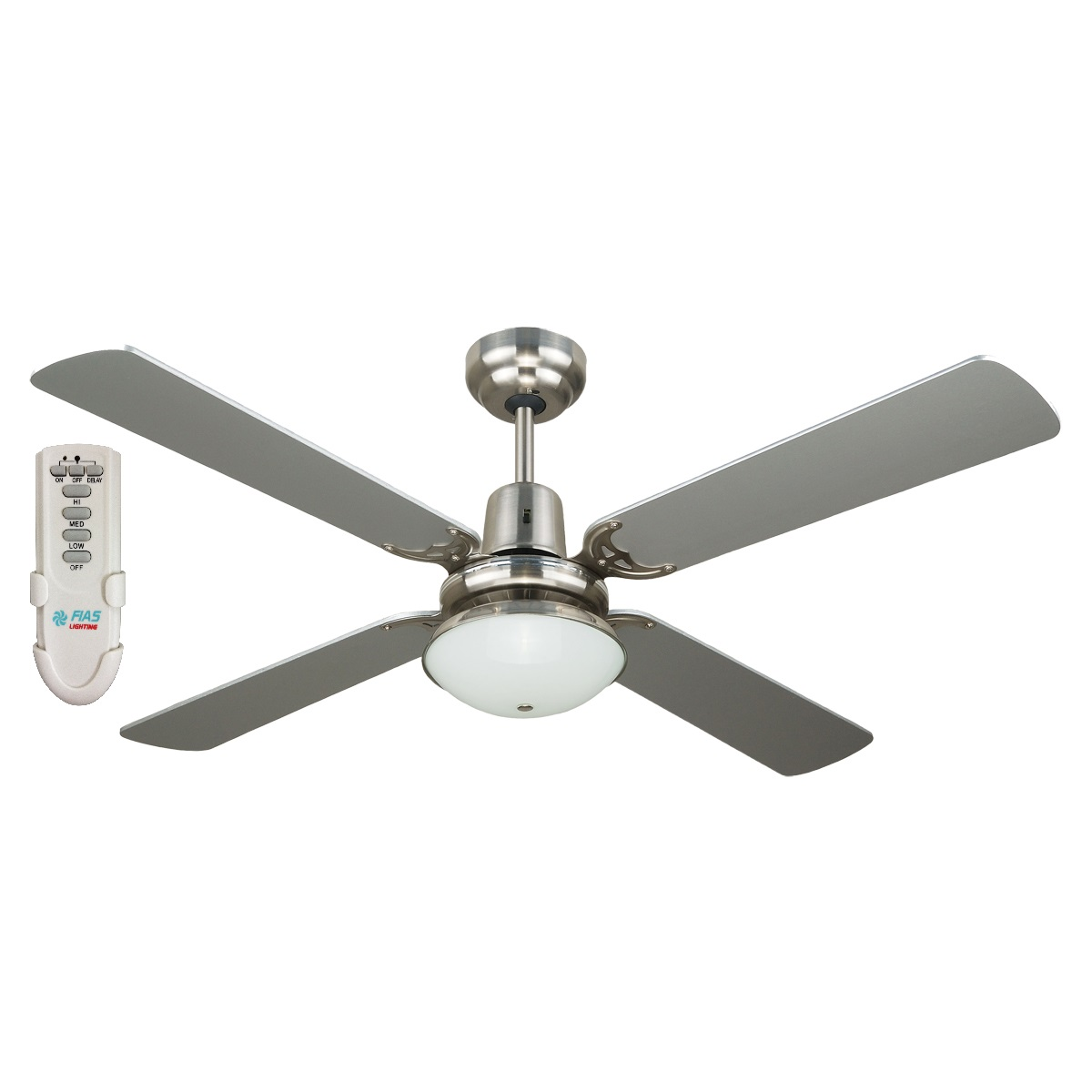 blades in without terra light silver architecture ceiling fan fans with replacement nickel lowes remote lights within kit brushed
