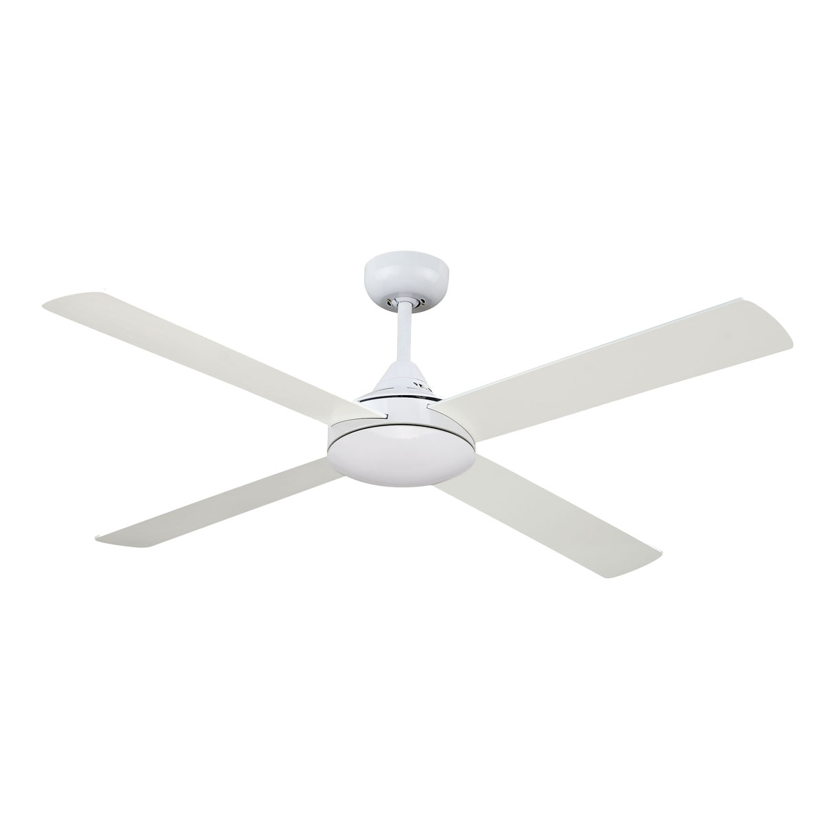 Revolve 48 Inch Ceiling Fan White