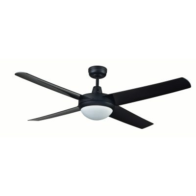 Rotor LED Light 52'' Black Ceiling Fan with ABS Blades - ROTORBLK2