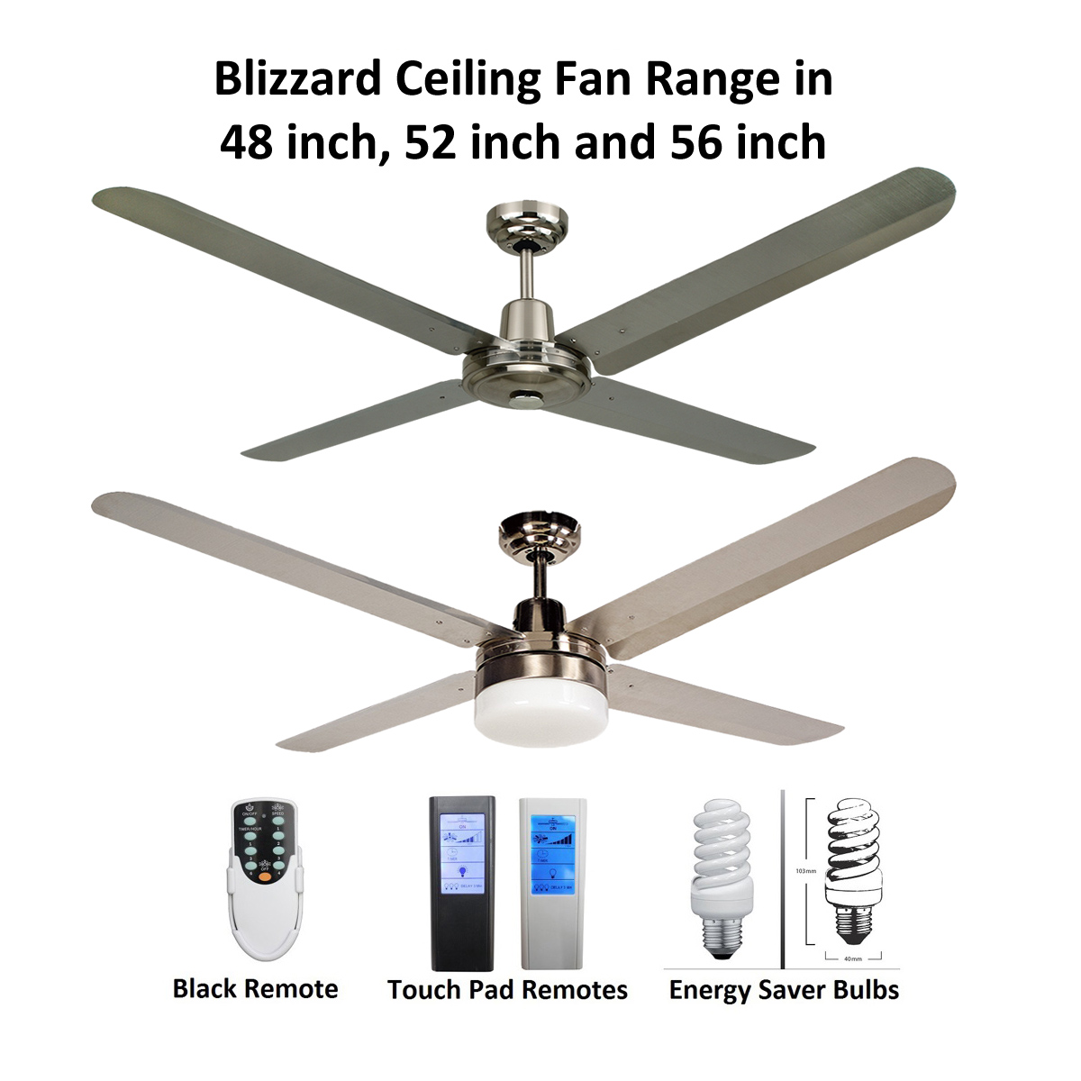 Blizzard 4 blade 316 marine grade stainless steel ceiling fan blizzard 4 blade 316 marine grade stainless steel ceiling fan aloadofball Choice Image