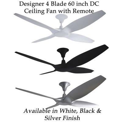 Designer 60 inch DC Ceiling Fan