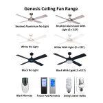 Genesis 52 inch Ceiling Fan