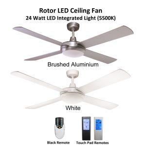 Rotor LED Ceiling Fan