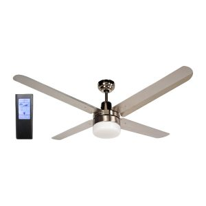 BLIZZARD48'' 1200mm 316SS Ceiling Fan with Light + Touch Pad BL Remote - BLIZZARD48''wl - TBLRem