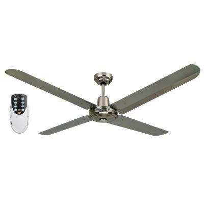BLIZZARD56'' 1200mm 316SS Ceiling Fan + Remote - BLIZZARD56'' - Rem