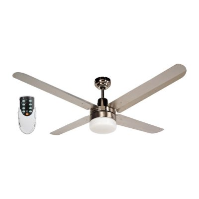 BLIZZARD56'' 1400mm 316SS Ceiling Fan with Light+ Remote - BLIZZARD56''wl - Rem
