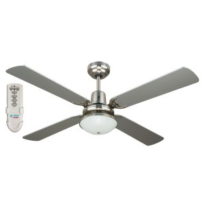 Ramo 48'' Fan Light Remote Silver - RAMO48SIL